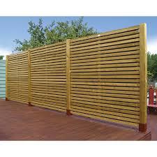 contemporary fence home design ideas