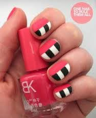 image result for easy nail designs for kids to do at home uñas