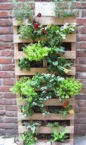 Wood Pallet Garden Ideas Vertical Gardening With Pallets Home Outdoor Decoration