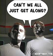 Aliens Meme Original - did any of tos 5 year mission first contacts aliens show up in later