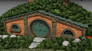 hobbit house model fantasy dexport