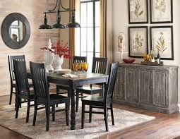 clayco bay black rectangular dining room set from ashley coleman