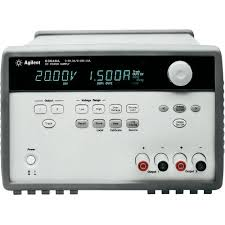 High Voltage Bench Power Supply - agilent technologies e3648a 100w dual output variable dc power