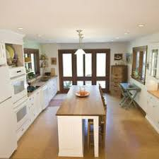 narrow kitchen with island narrow kitchen island breakfast bar home design