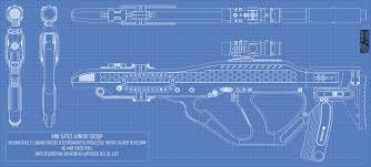 ng mab pulse rifle blueprint sheet by doug7070 on deviantart