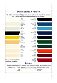 color charts all marine paint color card pompei u0027s marine