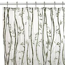 Bed Bath And Beyond Shower Curtain Liners Bamboo Vinyl Shower Curtain Bed Bath U0026 Beyond
