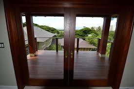 Wood Patio Doors Stylish Wood Sliding Patio Doors For Exterior Decorating Ideas