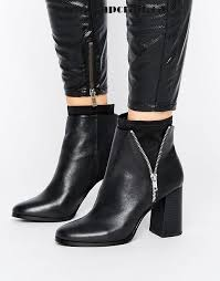 s heeled boots canada black shoes miss selfridge two tone heeled boots miss