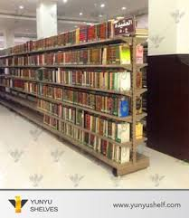 Metal Book Shelves by Guangzhou Furniture Double Face Library Racks Metal Book