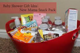 diy baby shower gift new snack pack