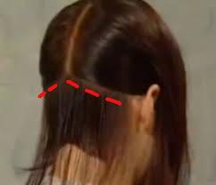 diy cutting a stacked haircut cut the back of a bob haircut haircuts bobs and cosmetology
