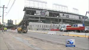 Chicago Cubs Map by Wrigley Field 575m Renovation Set To Begin Chicago Cubs Plan To