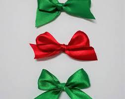 small ribbon bows etsy