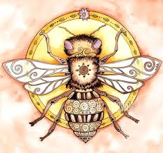 bee tattoo design