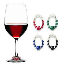 bold u0026 beautiful wine charms trendy magnetic drink markers