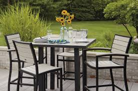 Patio Table Chairs by High Top Patio Furniture Roselawnlutheran