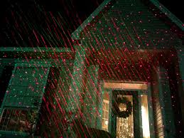 christmas laser forget christmas lights lasers at your house instead wired
