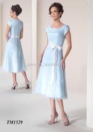 tea length bridesmaid dresses with cap sleeves