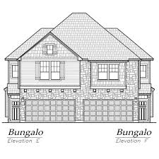 Casa Bella Floor Plan Bungalo Plan Chesmar Homes Houston