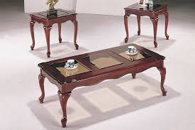 queen anne entry table queen anne coffee table 3 end set with regard to ideas 12