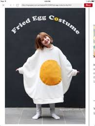Eggs Bacon Halloween Costume Duct Tape Fried Egg Bacon Halloween Costume