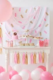 an adorable children u0027s donut themed birthday party that u0027s perfect