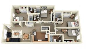 Bedroom ApartmentHouse Plans - Apartment home design