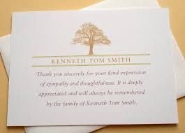funeral thank you notes free sympathy thank you cards templates ideas anouk invitations