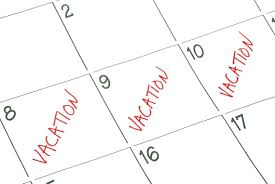 Letter For Vacation Request Preparing For Vacation Plan Ahead Before Your Staff Clocks Out