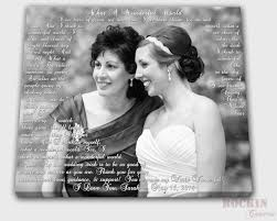 mother of the bride gift mother of the bride custom photo