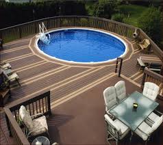 pool decks for above ground pool ideass home design ideas