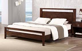 Wood Platform Bed Kota Modern Size Solid Wood Platform Bed Frame