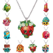 Childrens Necklaces Online Shop Fashion Kawaii Shopping Flatback Resin Pendant