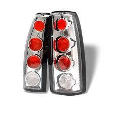 1998 chevy silverado tail lights 88 98 chevy c10 ck 1500 2500 altezza tail lights chrome 111 cck88