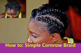 how to braid extensions into your own hair how to cornrow your hair using braids extensions style tutorial