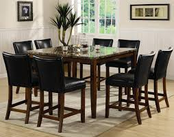 Pub Dining Room Tables Telegraph Cherry Wood And Marble Pub Table Set Steal A Sofa