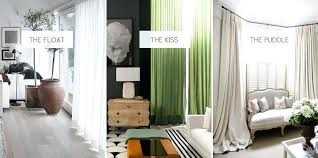 Should Curtains Go To The Floor Decorating Floor To Ceiling Curtains Afrocanmedia