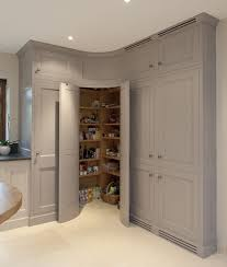 kitchen corner ideas 1 doors to a pantry with storage wall w doors beside