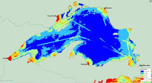 Map Of Michigan Lakes by Researchers Map 34 Threats To The Great Lakes Michigan Radio