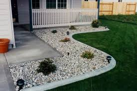 Backyard Landscaping Ideas With Rocks Landscape Design Using Rocks