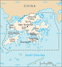 map world hong kong the world factbook central intelligence agency