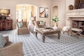 Square Printed Carpet For Elegant Family Room Decorating Ideas - Family room carpet ideas