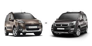 peugeot tepee 2015 peugeot partner tepee u2013 old vs new carwow