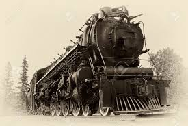 a 4 8 4 or northern type steam train engine built by the montreal