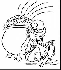 beautiful st patricks day coloring page with st patricks day