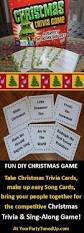 Easy Christmas Games Party - the christmas trivia and sing off party game your party tuned up