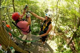 Under Canopy Rainforest by Zipline Tours Massachusetts Canopy Tours Massachusetts Zoar