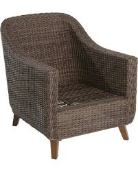 Patio Club Chair On Sale Now 50 Mayhew Wicker Patio Club Chair Frame Only