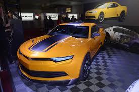 camaro 2015 concept transformers 4 camaro concept and corvette stingray sema showing